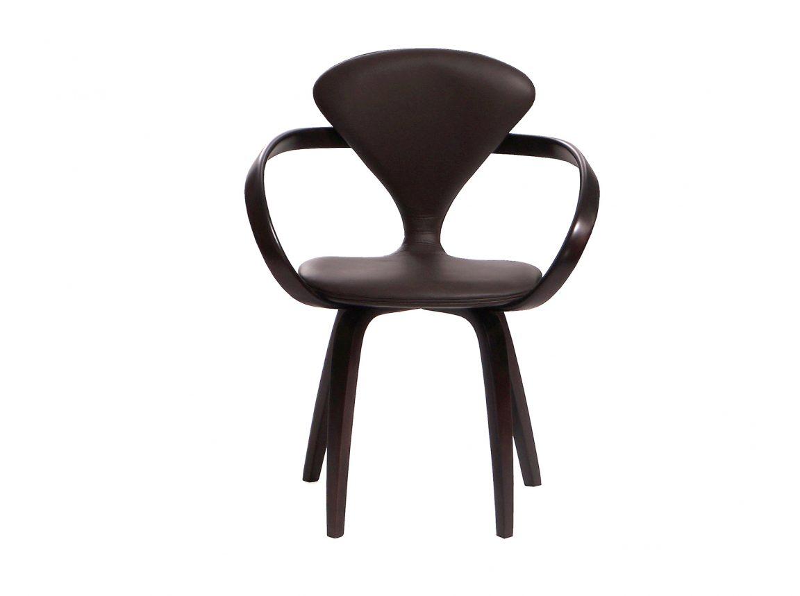 Шикарный кожаный стул Cherner