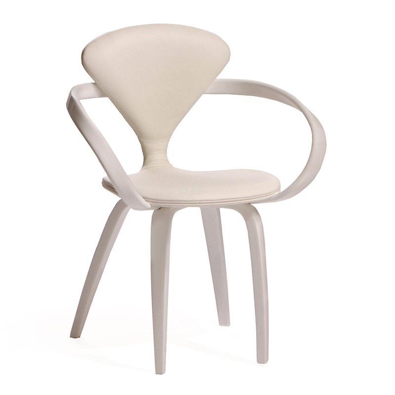 Легкий воздушный стул белый