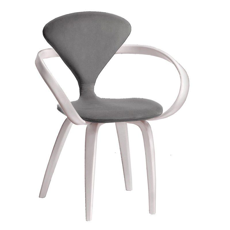 Элегантный серый стул стильный