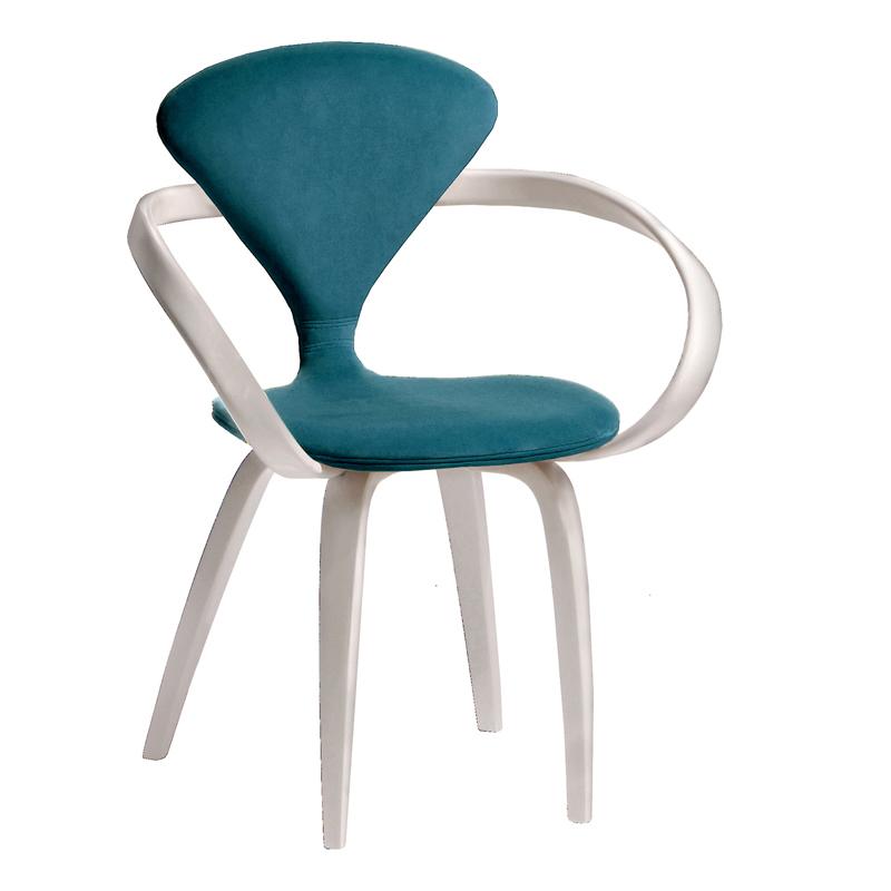 Необычный авторский стул бирюзовый