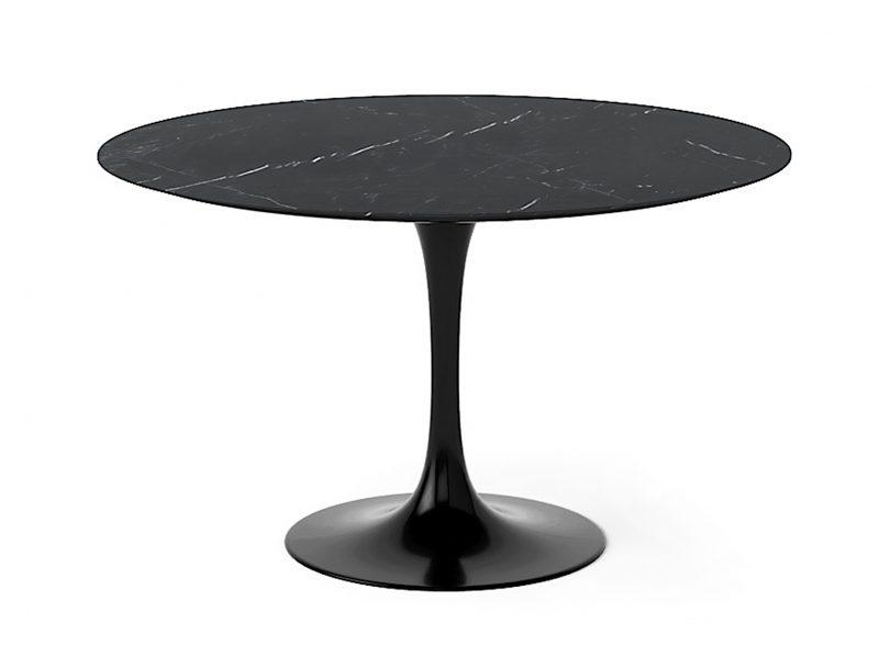 Изысканный стол Тулип черный