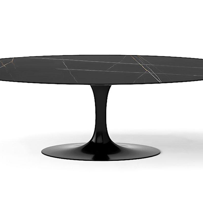 Большой шикарный стол черный
