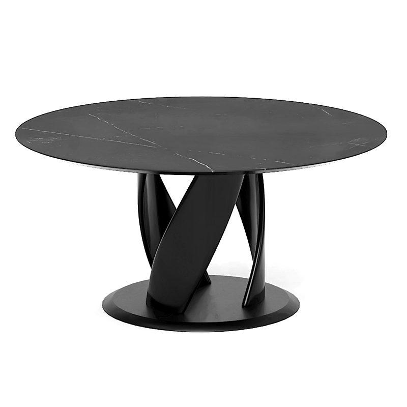 Авторский стол круглый из массива