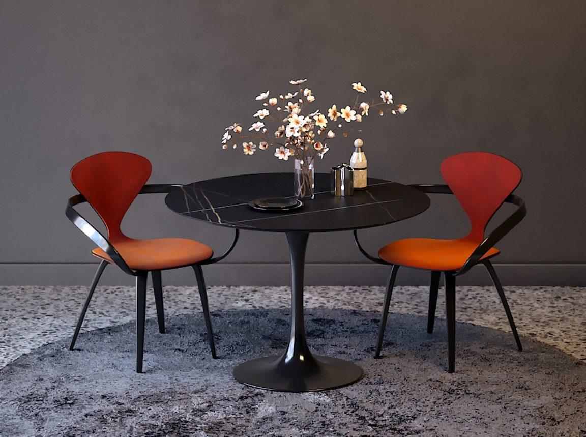 Кухонный стул Cherner красный