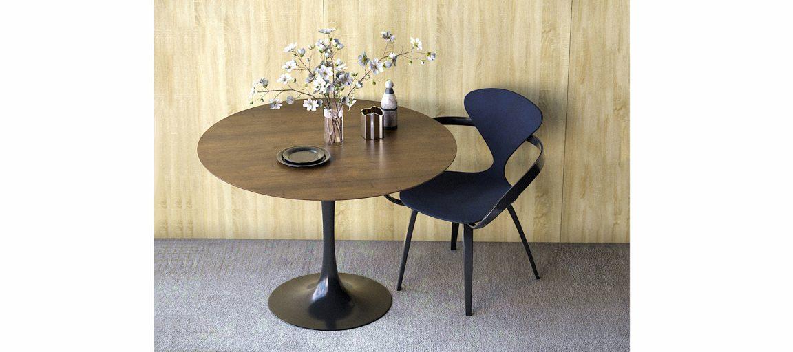 Обеденный стол круглый для кухни