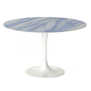 Круглый дизайнерский стол в столовую