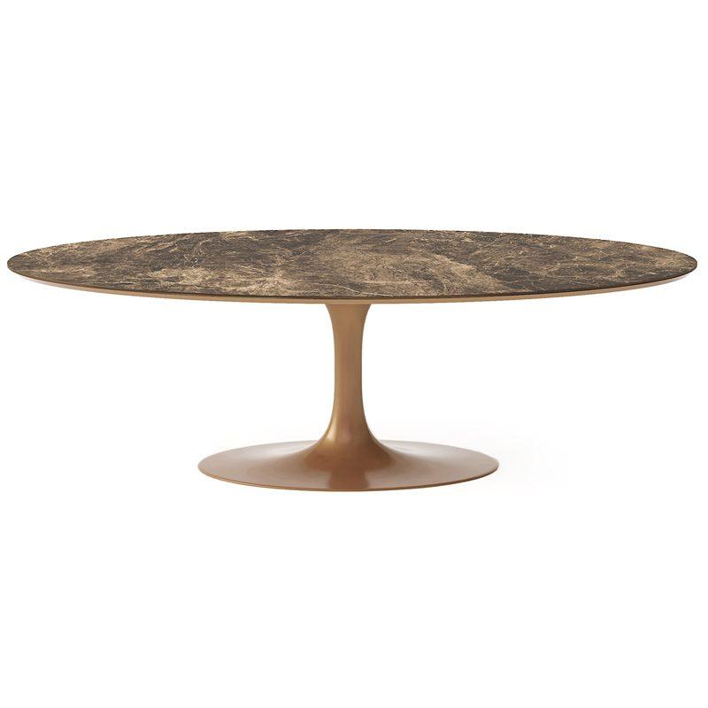 Дорогой роскошный овальный стол