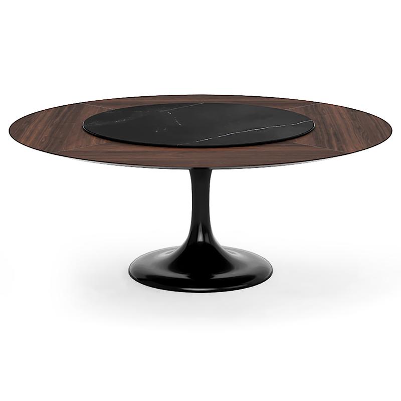Большой обеденный стол Tulip/Тулип для столовой в деревянном стиле