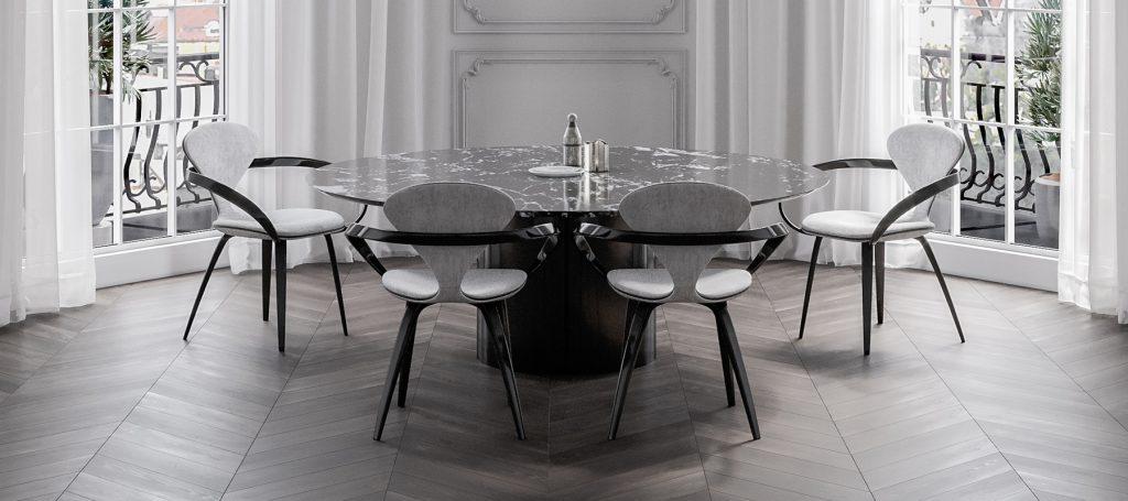 стол большой обеденный для гостиной