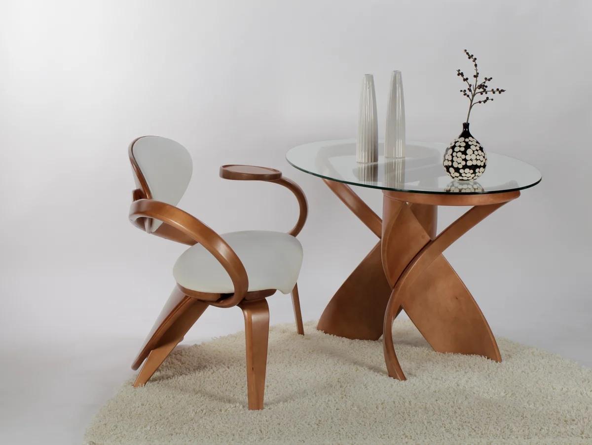Стол со стеклянной столешницей | Как за ним ухаживать