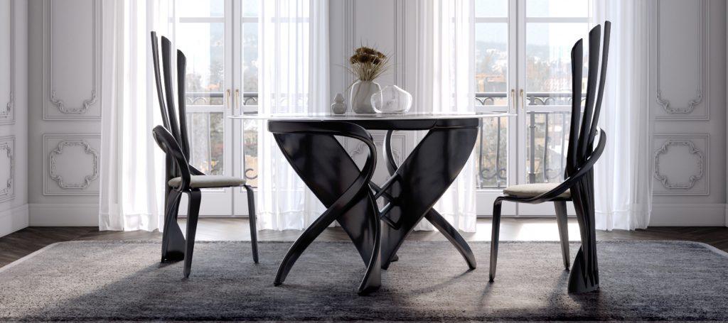 столы большие для гостиной