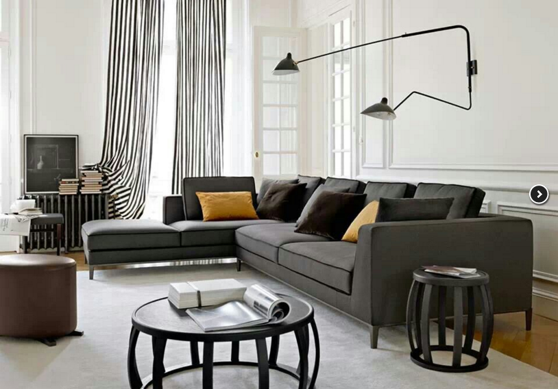 угловой дизайнерский диван
