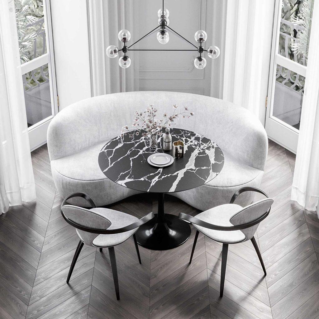 Как выбрать стол со стеклянной столешницей